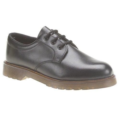 Grafters Mens Uniform Shoe Black