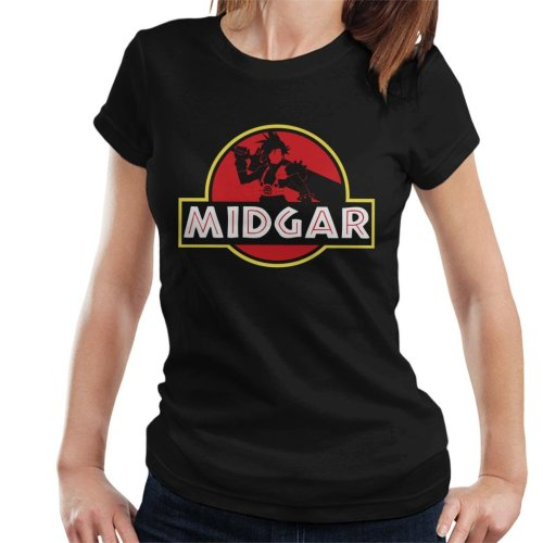 Final Fantasy Midgar Park Women's T-Shirt