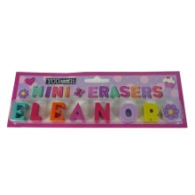 Childrens Mini Erasers - Eleanor