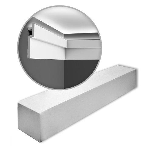 Orac Decor C395-box MODERN STEPS Cornice mouldings 1 Box 16 pieces   32 m