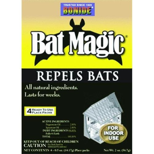 Bonide BONIDE876 Bat Magic 4 pk