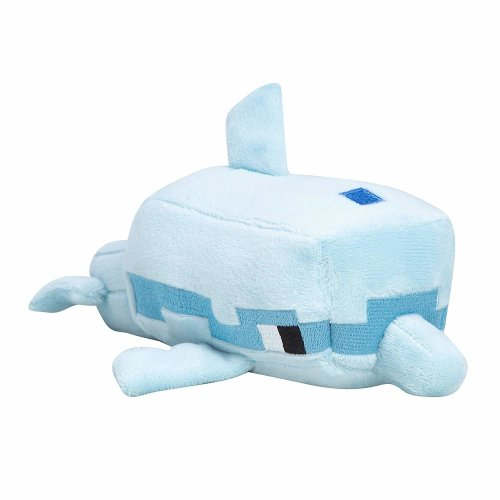 "Plush - Minecraft - Happy Explorer Dolphin 8"" Sof Doll New Licensed j8983"