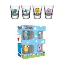 Adventure Time Charcaters Shot Glasses