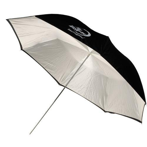 Photogenic 45 quot Ecpse Umbrella with White Satin Interior amp Black Cover EC45BC