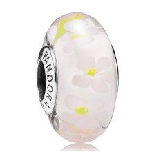 Pandora Field Of Daisies Murano Charm - 791623