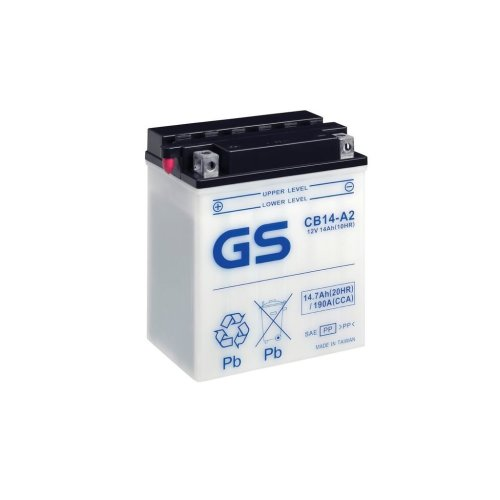 Motorcycle CB Series Battery 12V - 14Ah - 190CCA
