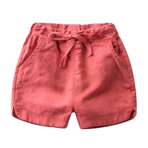 Baby Boy Short Pants Cute Short Pants for Summer Suitable for 130cm [J]