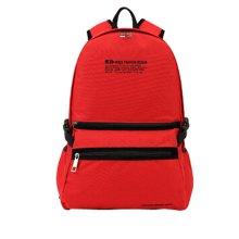 Korean Tide Leisure Bag Backpack Backpack Sports Bag,Red