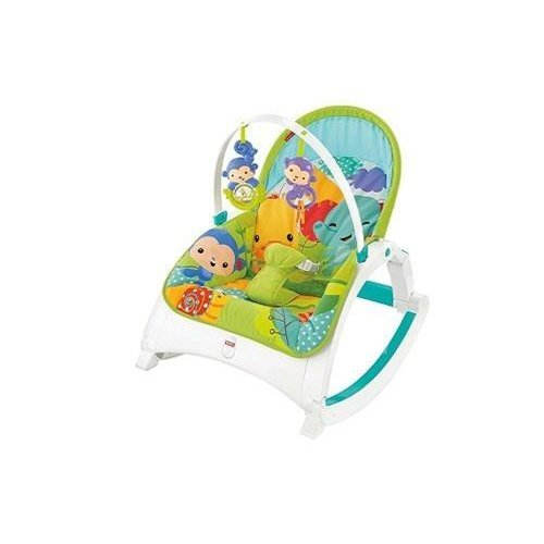 Fisher-Price Rainforest Friends Infant-To-Toddler Rocker