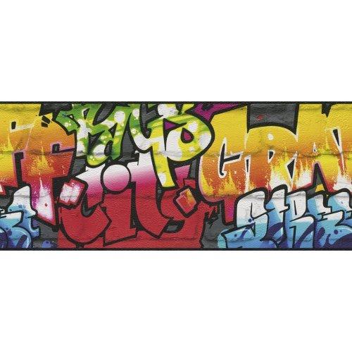 "Rasch paperhangings 237900""Kids and Teens II Line Pattern"" Paper Wallpaper, Multi-Colour"