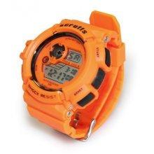 Scruffs Sports Digital Work Watch ORANGE - Shock & Water Proof T51415