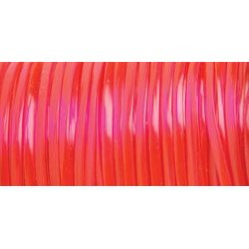 """Rexlace Plastic Lacing .0938""""X100yd-Clear Red"""