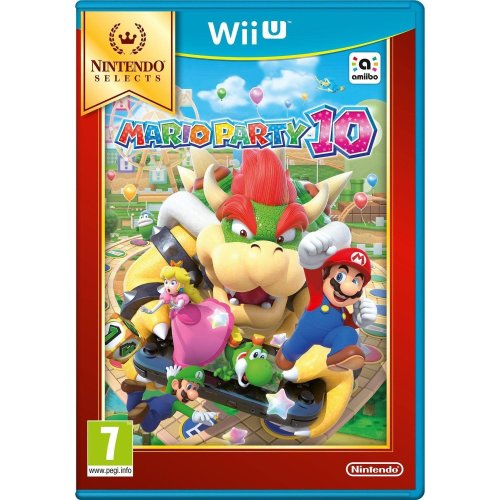 Mario Party 10 Selects Nintendo Wii U Game