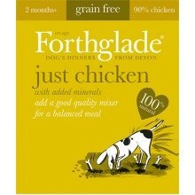 Help on title  FORTHGLADE FOOD 18 x 395 gram trays (JUST CHICKEN) Grain Free  19 characters remaining