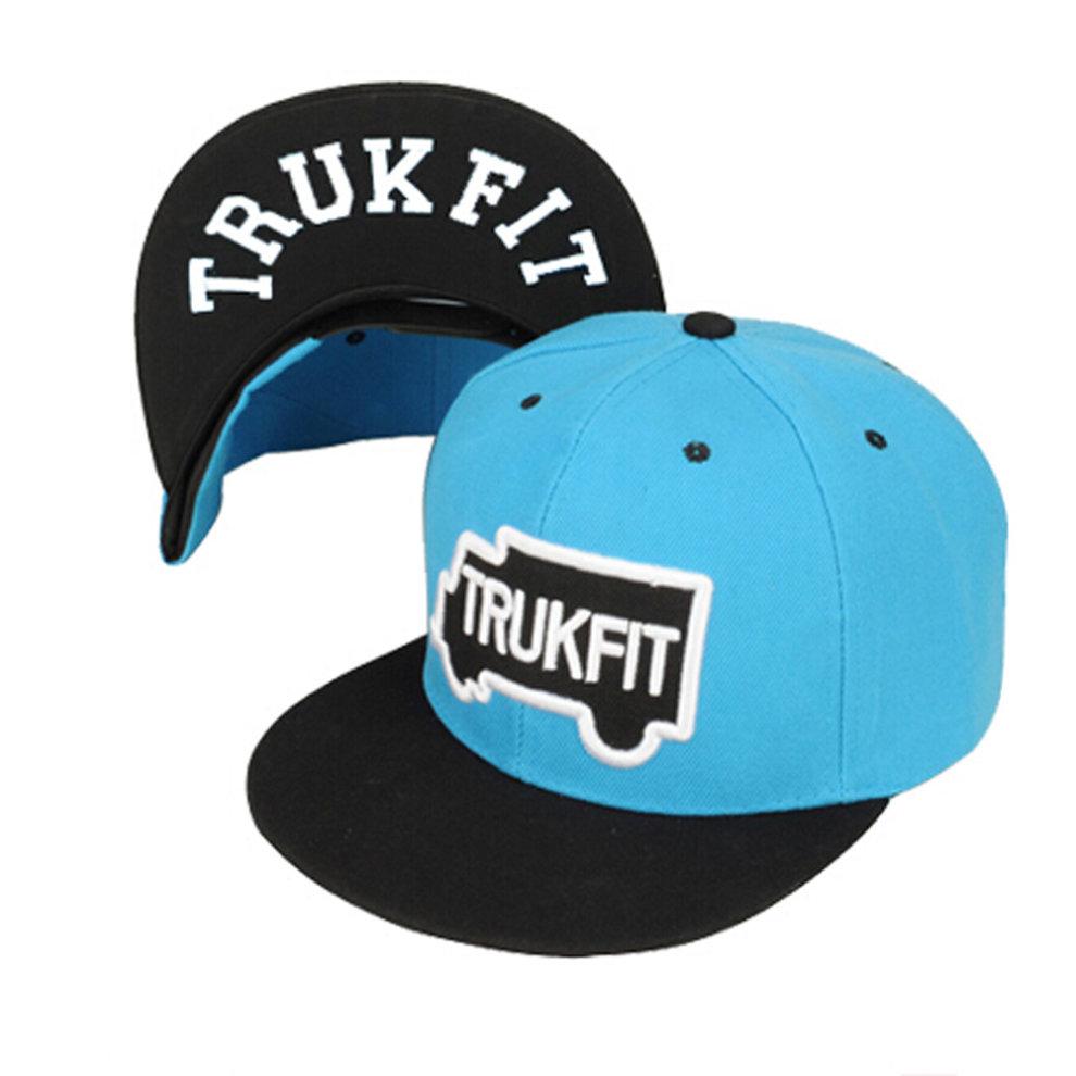 Women & Men Baseball Flexfit Cap Fashion Peaked Cap Sunhat Hip-hop Style  Blue