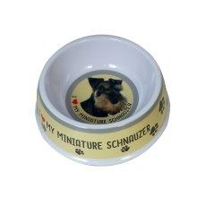 Miniature Schnauzer Dog Bowl   Miniature Schnauzer Dog Dish