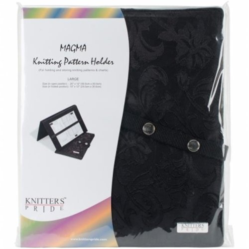 Knitters Pride KP800112 Magma Knitting FoldUp Pattern Holder 10 x 12 in.