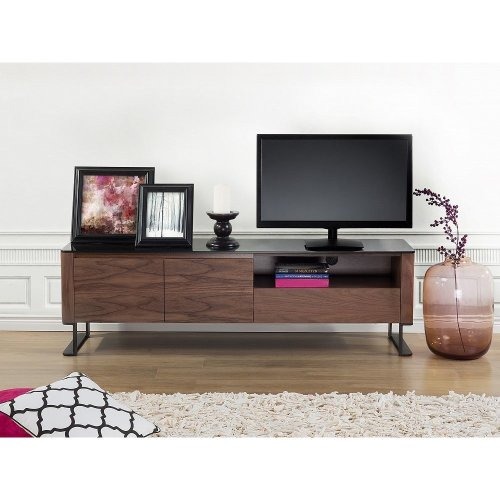 TV Stand - Glass top - Cabinet - Entertainment Unit -  - ELVAS