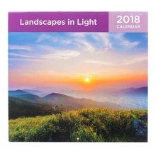 Nature Calendar 2018 Wall Calendar Art/Home Scenery Wall Calendar-J