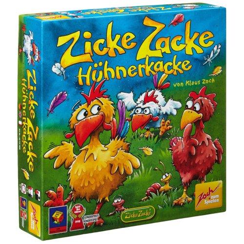 """Zoch 601121800 """"Zicke Zacke Huhnerkacke Board Game"""