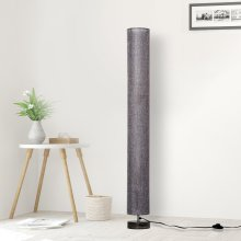 Homcom 120cm Modern Floor Lamp with Fabric Linen Shade