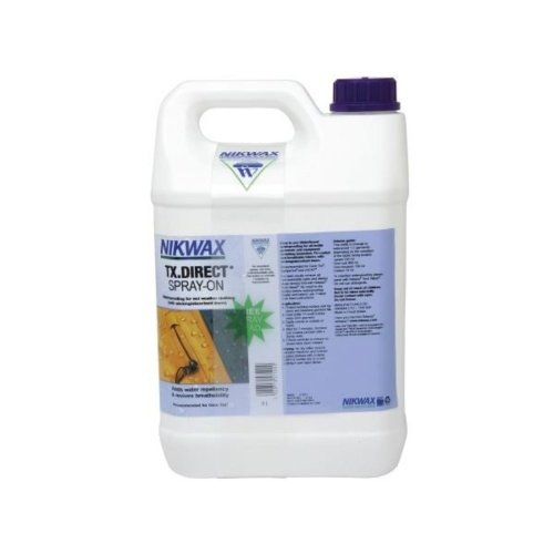 Nikwax TX Direct Spray-On Textile Waterproof (5 Litre Refill)