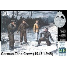 Mas3507 - Masterbox 1:35 - German Tank Crew (1943-1945) Kit No. 1