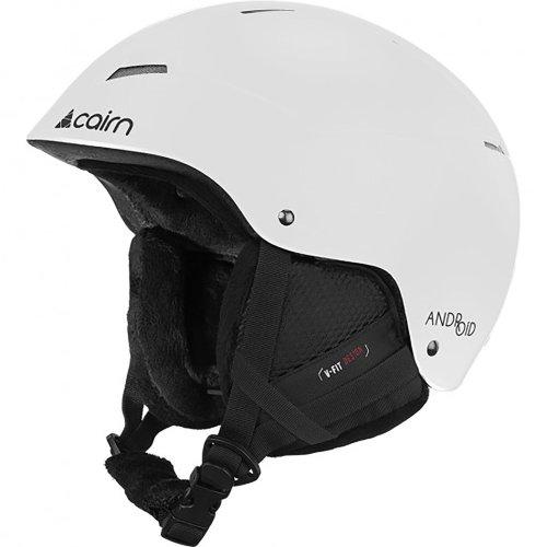 Cairn Android Matt White Helmet Outdoors Snow Sports Ski Adult 61/62cm