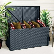 Metal Deck Box Brown