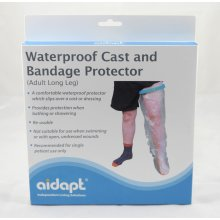 Aidapt Adult Long Leg Waterproof Cast and Bandage Protector