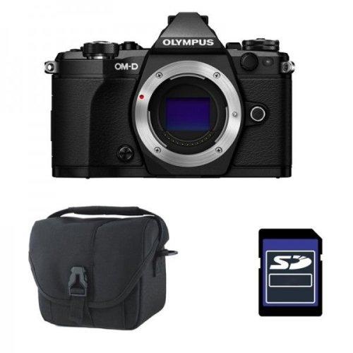 OLYMPUS E-M5 II Body Black + camera Bag + 16GB SD card