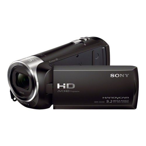 Sony CX240E Full HD Camcorder - Black