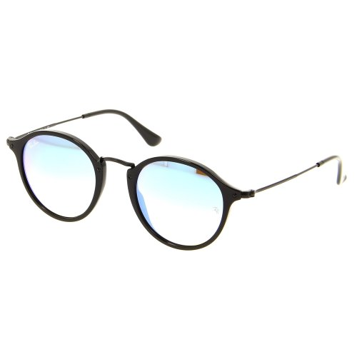 Ray-Ban Round Fleck Flash Lenses Gradient Sunglasses RB2447-901/4O-49