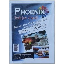 100 Sheets Phoenix A4 210gsm Double Sided Photo Matt/ Matte Card