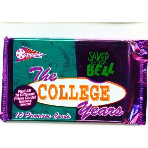 Saved By The Bell The College Years Trading Cards 1994