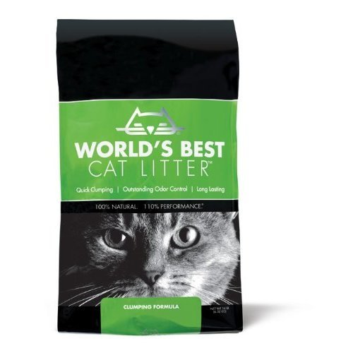 Worlds Best Cat Litter Bag Long Lasting Odour Control Clumping Formula, 6.35kg