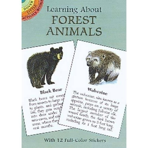 Learning About Forest Animals (Dover Little Activity Books)