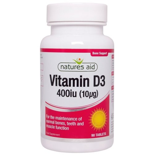 Natures Aid Vitamin D3 400iu 90 Tablets