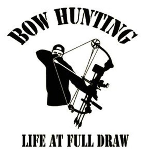 Western Recreation Ind 9323 Bowhunter Full Draw Decal 6X6