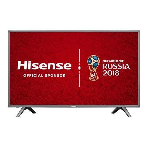 Hisense H43N5700UK 43-Inch 4K UHD Smart TV - Grey (2017 Model)