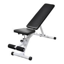 Fitness Workout Utility Bench Adjustable Back up Leg Curl