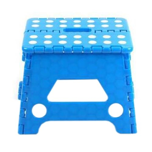 Creative Plastic Foldable Step Stool Portable Folding Stools Stepstool for Kids & Adults, No.6