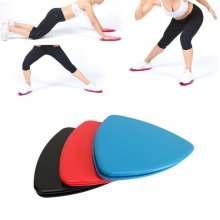 1 Pair Household Gliding Discs Glider Exercise Gym Slider Abdominal Training Fitness Equipment