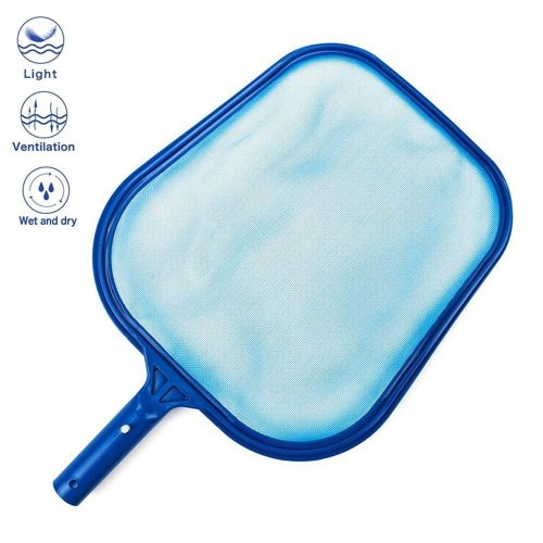 KOBWA Pool Skimmer Net, Professional Pool Skimmer, Swimming Pool Leaf Net For Cleaning Pool Rake Pool Cleaning Supplies, Pole Not Included