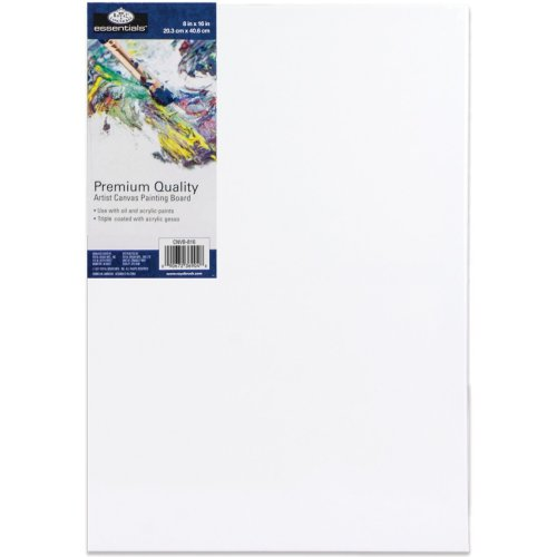 "essentials(TM) Premium Canvas Board-8""X16"""