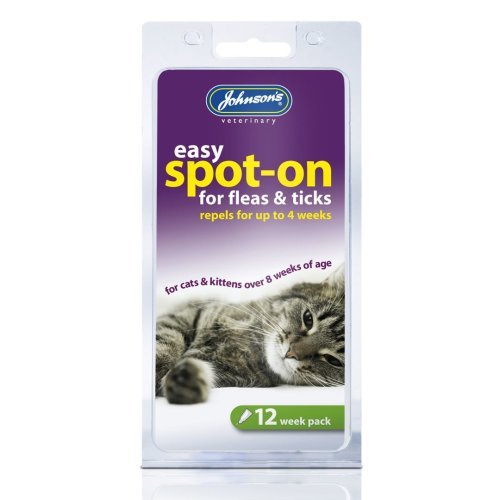 Jvp Cat Easy Spot-on For Fleas & Ticks 12 Week (Pack of 6)