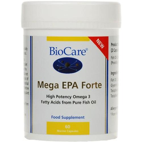 Biocare Mega Epa Forte 60 Capsules