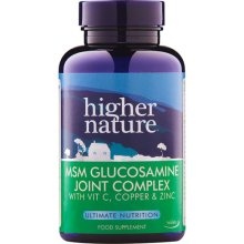 Higher Nature  MSM Glucosamine Joint Complex 90s