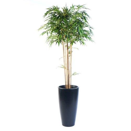 Artificial Silk Bamboo Mophead Tree FR