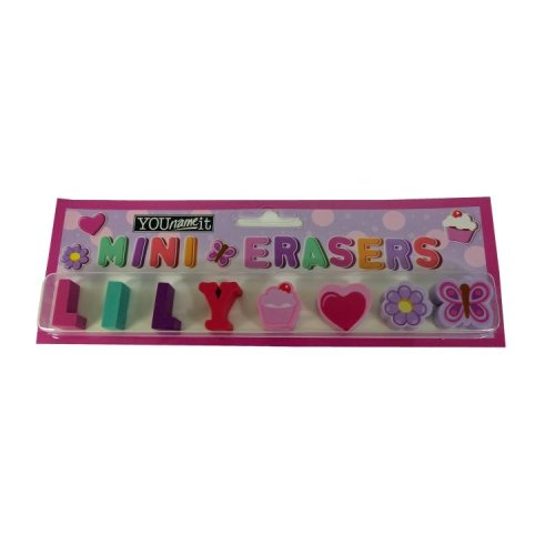 Childrens Mini Erasers - Lily